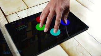 Sony Xperia Z2 Tablet: Update behebt Touchscreen-Problem