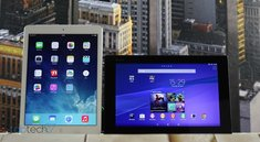 Vergleich: Sony Xperia Z2 Tablet vs. Apple iPad Air