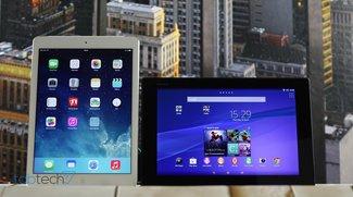 Vergleich: Sony Xperia Z2 Tablet vs. Apple iPad Air