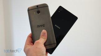 Vergleich: Sony Xperia Z2 vs. HTC One (M8)