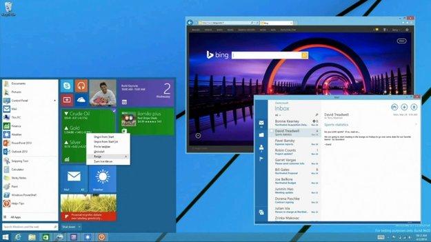 Windows 8.1 Update 2: Startmenü soll bereits im August zurückkehren