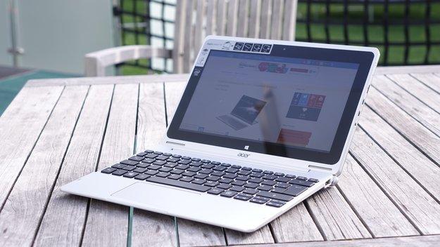 Acer Aspire Switch 10 HDD mit 500 GB ab Mitte Juli erhältlich