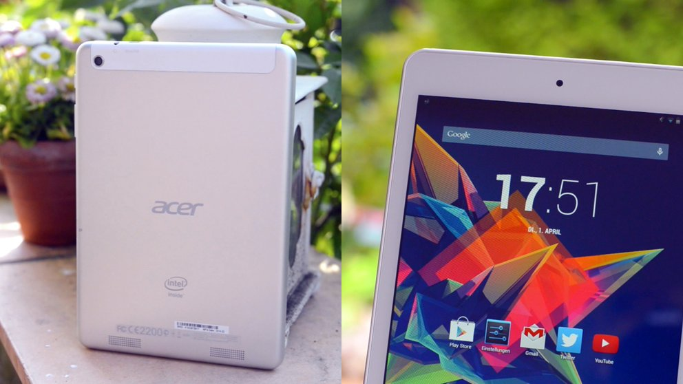 Review: Acer Iconia Tab A1-830 im Test