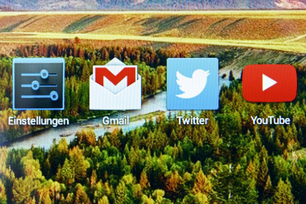 Acer Iconia Tab A1-830 geringe Pixeldichte