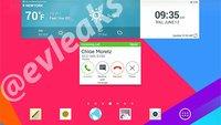 LG G Pad 7.0, 8.0 & 10.1: Screenshot zeigt neue Tablet-Oberfläche