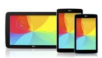 LG G Pad 7.0, 8.0 und 10.1 Tablets im Hands-On Video