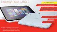 Pokini TAB A8: Robustes 8,3 Zoll Tablet mit Windows 8.1 & Android