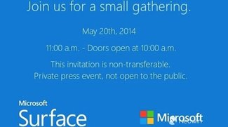 Microsoft Surface Mini Event für den 20. Mai angekündigt