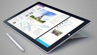 Surface Pro 3: N-trig Digitizer & Stylus im Video demonstriert