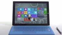 Surface Pro 3 im offiziellen Hands-On Video