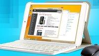 Allview Impera i8: 8 Zoll Windows 8.1 Tablet mit Tastatur-Cover