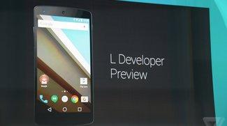 Android L: Preview auf dem Samsung Galaxy S5 veröffentlicht