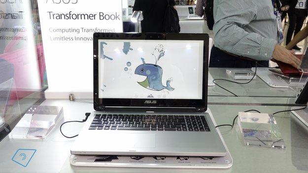 Asus Transformer Book Flip in unserem Hands-On Video