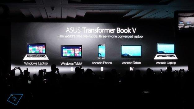 Asus Transformer Book V 5-in-1 Smartphone, Tablet & Notebook