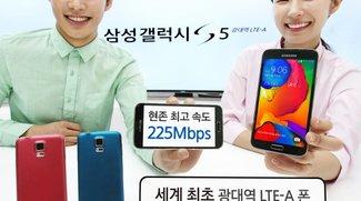Samsung Galaxy S5 LTE-A ausschließlich für Korea gedacht
