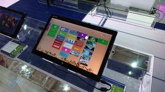 Sharp Merilis: 15,6-Zoll-Tablet mit 3200 x 1800 Pixel im Hands-On Video