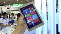 Toshiba Encore 2 8 im Hands-On Video & Vergleich mit der ersten Generation