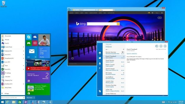 "Microsoft: ""Mini""-Startmenü wohl erst mit Windows 9 (Video)"