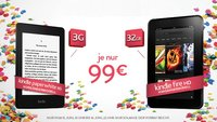 Deals: Kindle Fire HD mit 32 GB & Paperwhite 3G für je 99€