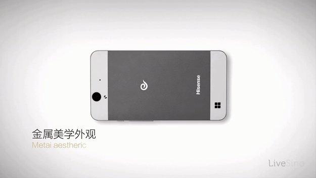Hisense MIRA6: Erstes Windows Phone des Herstellers ähnelt iPhone
