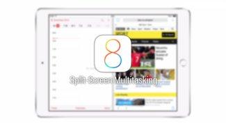 iOS 8: Video demonstriert Splitscreen-Multitasking