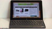 Lenovo ThinkPad 10 mit Zubehör im ersten Test