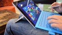 Surface Pro 3 im ersten deutschen Hands-On Video