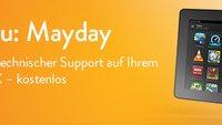 Amazon Mayday: Technischer Support auf den Kindle Fire HDX in Deutschland gestartet
