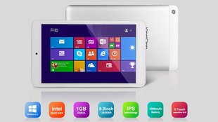 Kingsing W8: 99 Dollar 8 Zoll Windows 8.1 Tablet vorgestellt