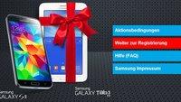 Samsung Galaxy Tab 3 7.0 Lite gratis beim Galaxy S5 Kauf