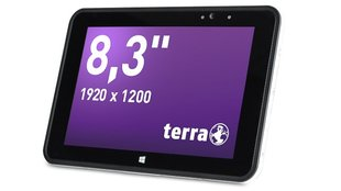 Terra Mobile Industry Pad 885: Robustes 8,3 Zoll Windows 8.1 Tablet