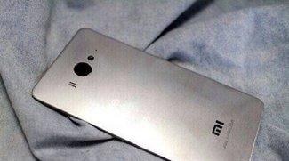 Xiaomi Mi4: Neue Bilder zeigen Rückseite im Metall-Look