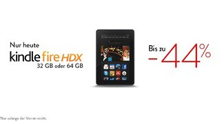 Deal: Kindle Fire HDX Tablets mit 32 &amp&#x3B; 64 GB um 120€ gesenkt