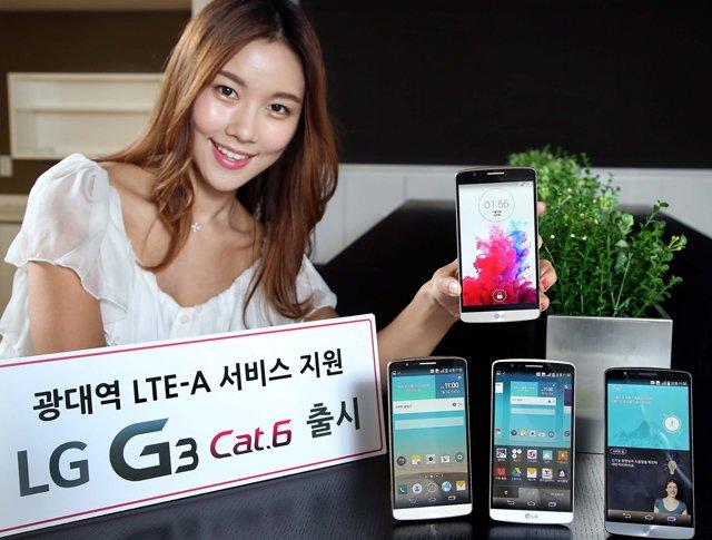 LG G3 Cat. 6 mit Snapdragon 805 offiziell vorgestellt