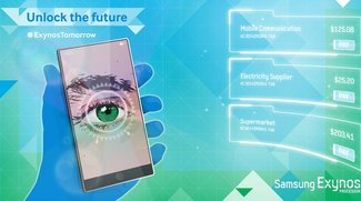 Samsung Exynos teasert Smartphone mit Iris-Scanner an