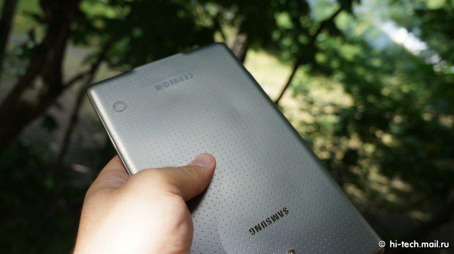 Samsung Galaxy Tab S 8.4: Überhitzung verformt Rückseite