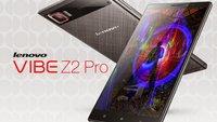 Lenovo Vibe Z2 Pro mit Quad-HD-Display offiziell vorgestellt