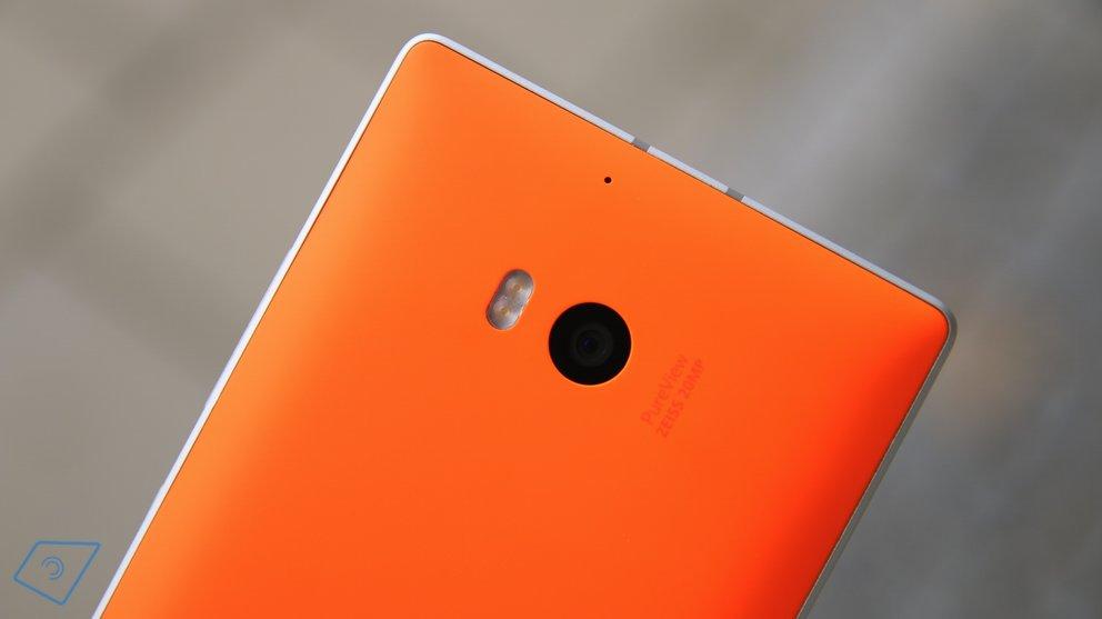 Lumia 930 Kamera
