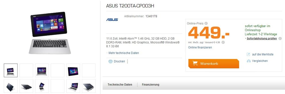 asus t200ta-cp0003h