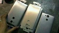 Huawei Ascend D3 Metallrückseite deutet auf Fingerabdruckscanner hin
