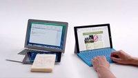 Microsoft vergleicht das Surface Pro 3 mit dem MacBook Air
