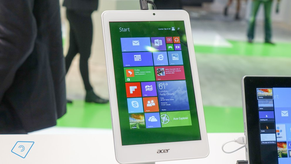 Acer Iconia Tab 8 W mit Windows 8.1 für 149€ vorbestellbar