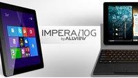 Allview Impera i10G: Windows-Tablet mit 9.7-Zoll-Retina-Display vorgestellt