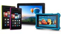 Amazon Kindle Fire HD 6, HD 7, HD Kids & HDX 8.9 präsentiert