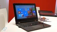 Lenovo ThinkPad Helix 2 mit Intel Core M im Hands-On Video