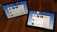 Surface Pro 3 mit Intel Core i3 und i5 im Vergleich