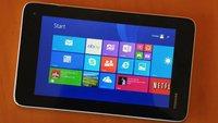 Toshiba Encore Mini: Neues Windows-8.1-Tablet für 199 Euro präsentiert