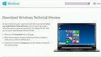 Windows 10 Insider Programm: Über 1 Million Nutzer & viel Feedback