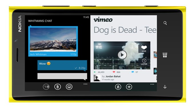 Windows Phone 9 Preview mit Splitscreen-Multitasking im Januar 2015 erwartet