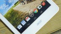 Acer GT-810 Tablet mit 8,5 Zoll, Intel Atom x7 & Android 5.1 aufgetaucht
